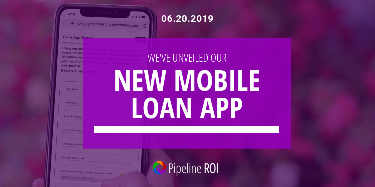 We've unveiled our new mobile loan app!