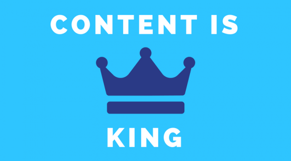 SEO for real estate - Content is king