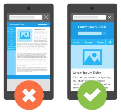 Mobile-friendly websites
