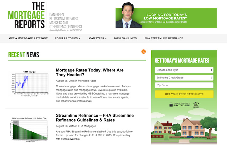 Dan Green - The Mortgage Reports