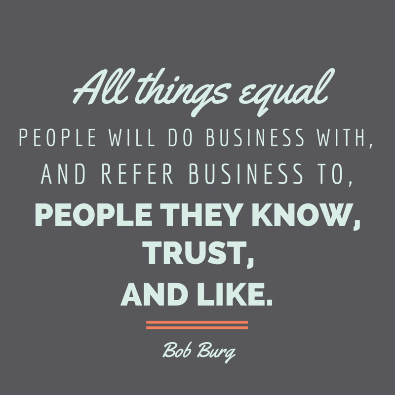 Trust In Business Quotes
