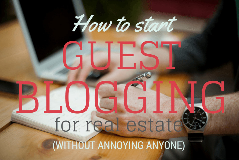 How to start guest blogging