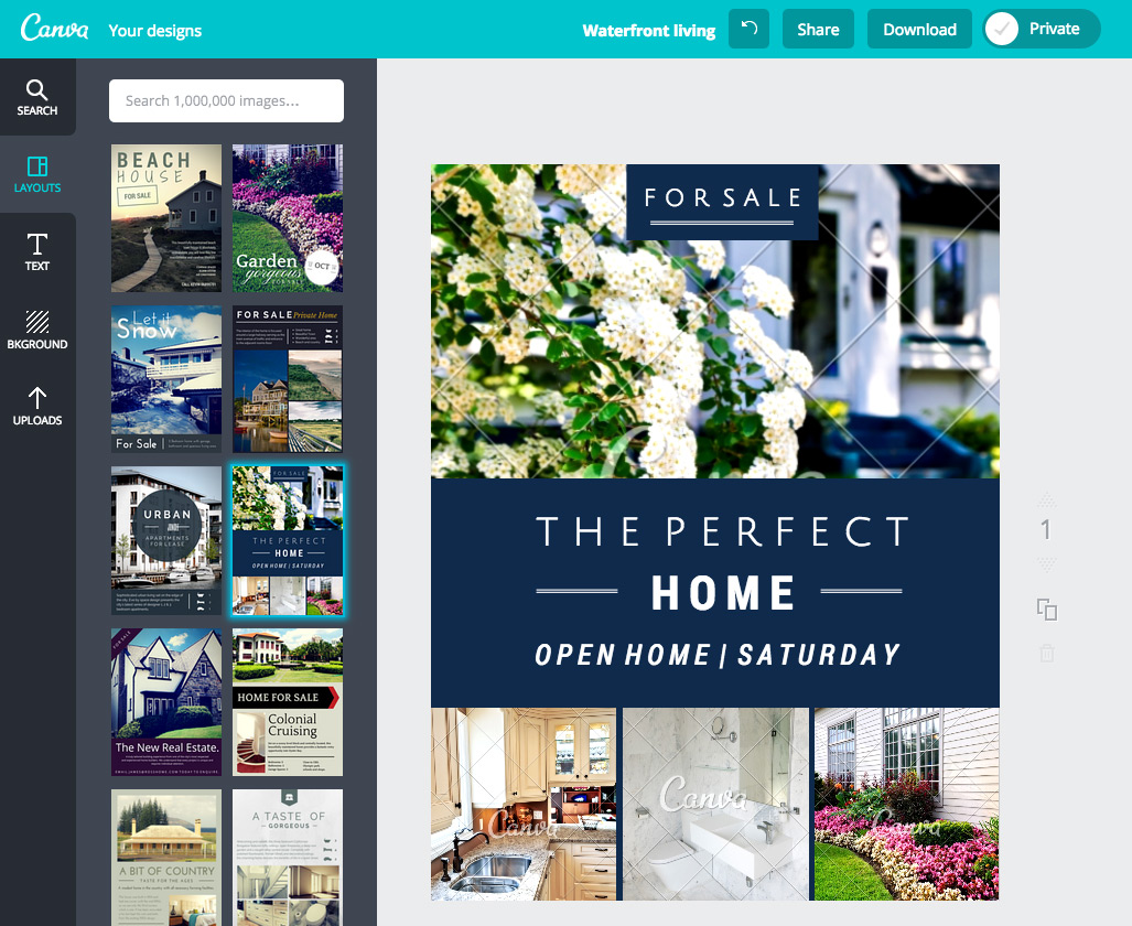 how to create stunning real estate flyers with canva
