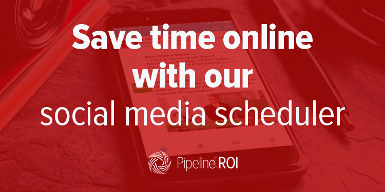 Save time online with our social media scheduler